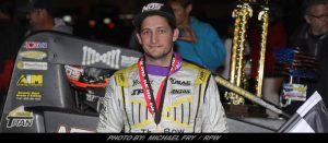 Justin Grant Strikes For Second Time During Oval Nationals At Perris Auto Speedway