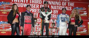 Thomas Repeats $25K Oval Nationals Win; Courtney Wins USAC Sprint Title In Tiebreaker