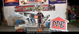 """Showtime"" Danny Tyler Captures Accord Speedway's Halloween Havoc"