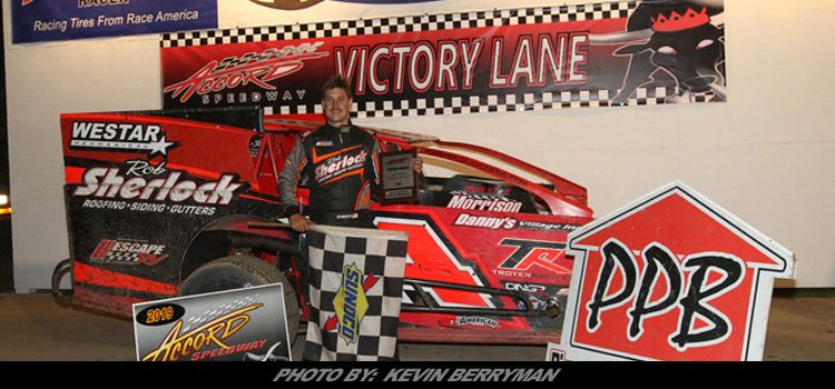 Michael Storms Takes First Of 2019 At Accord Sdway